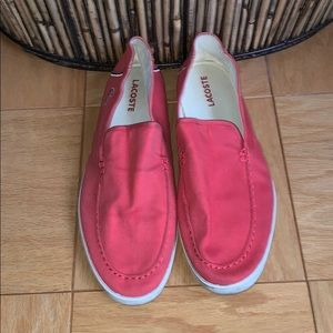Men's Light Red Lactose Slip-Ons